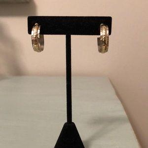 Silpada Jewelry - Silpada hammered earrings